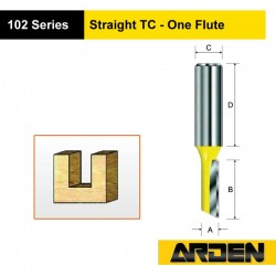 Straight TC - One Flute