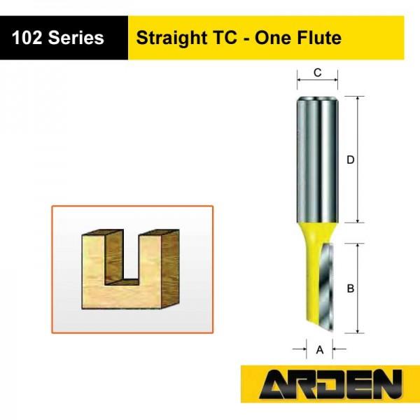 Straight TC - One Flute